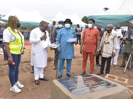 Governor Ikpeazu Performs Ground Breaking Ceremony Of The Aba Leather And Garment Industrial Cluster