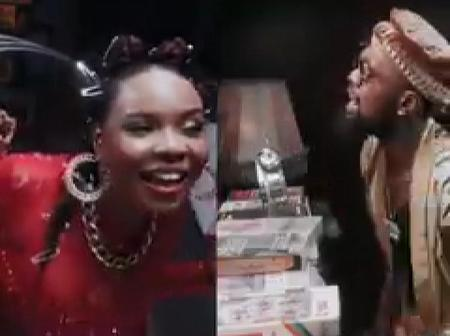 Reactions As Yemi Alade Shares New Music Video Featuring Patoranking, Titled 'Temptation'