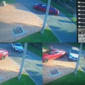 Watch : Suspects Hijacked A Vehicle With A Rifle In Honeydew, Johannesburg.
