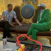 Alpha blondy est le premier riche ivoirien à avoir porté un complet veste avec des chaussures
