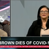 Karima Brown passes on from covid-19 complications.