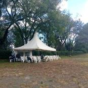 (Photos) Empty Tents In Eldoret As BBI Signature Collection Is Launched