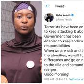 Aisha Yesufu Demands Resignation Of President Mohammed Buhari