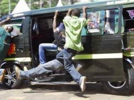 Passenger Thrown Out of a Moving Vehicle by Touts Who Stole His Phone Cries Foul