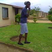 A first look at King Monada's mansion that caused a commotion on the internet. See pictures below