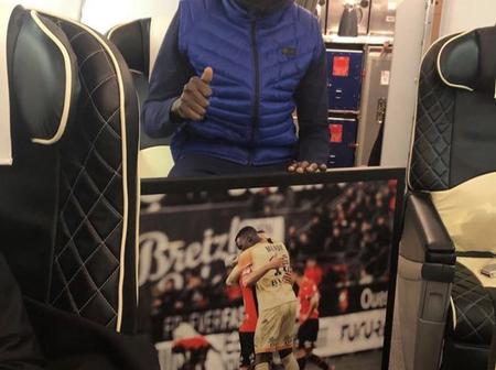 A Reward For Good Service. See What Rennes Gave Thier Former Keeper Mendy After Chelsea Game