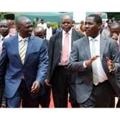Politicians Who Accompanied DP Ruto To Narok