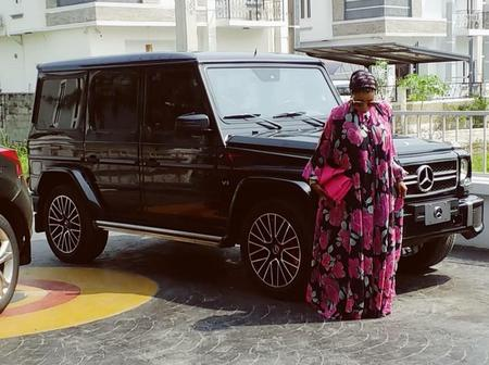 See The Mercedes G-Wagon Liz Anjorin Just Bought