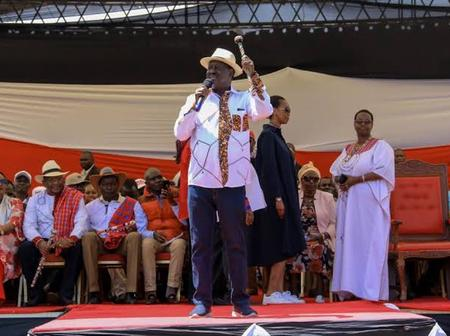 Kisii Residents Cheer Up Raila Uncontrollably as He Reveals How Nyachae Allegedly Betrayed Him