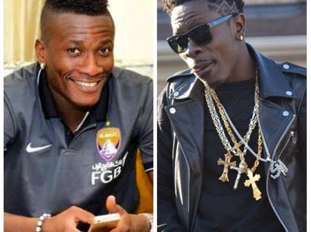 Who is the real Boss? Asamoah Gyan or Shatta Wale, choose one