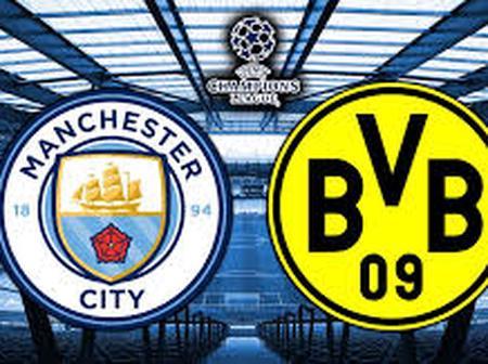 Live Streaming Of Manchester City Vs Dortmund