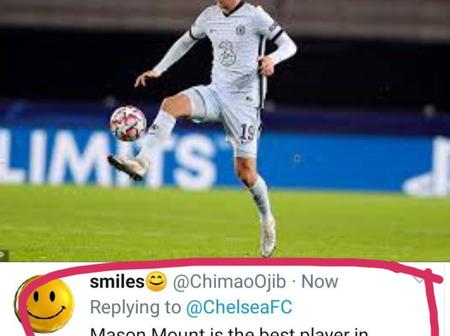 See What Fans Said About Mason Mount's Performance During Chelsea's Clash Against Rennes