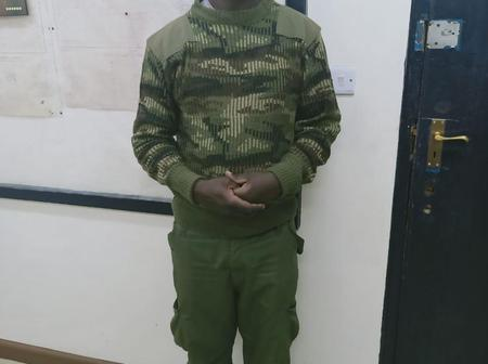 Flying Squad Detectives Nab a Suspected Thug Doned In Full Police Combat