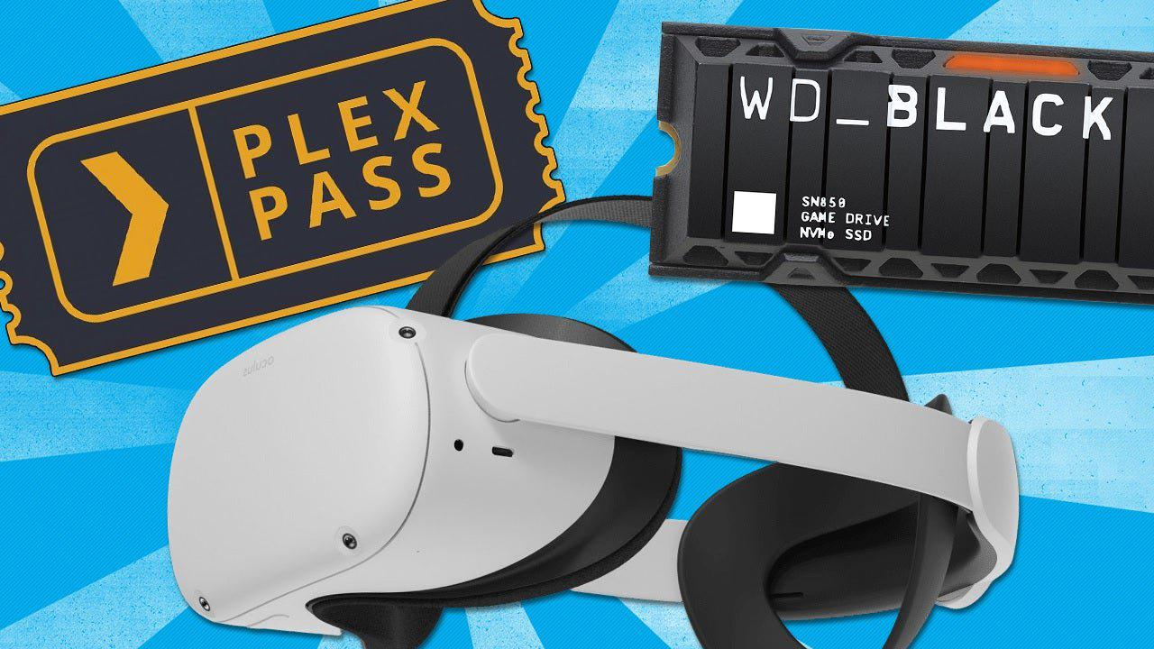 PS5 - Daily Deals: 20% Off Plex Lifetime Pass, Save on the Oculus Quest 2 & Accessories, WD SN850 PS5 SSD Upgrade Back in Stock