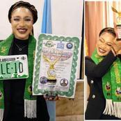 Tonto Dike UN Award: Ghanaians fear for Nigerian Actress' Award Because of Dr. UN