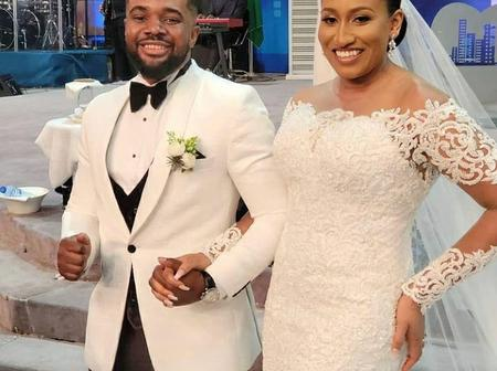See Beautiful Photos from The White Wedding of Williams Uchemba to Brunella Oscar