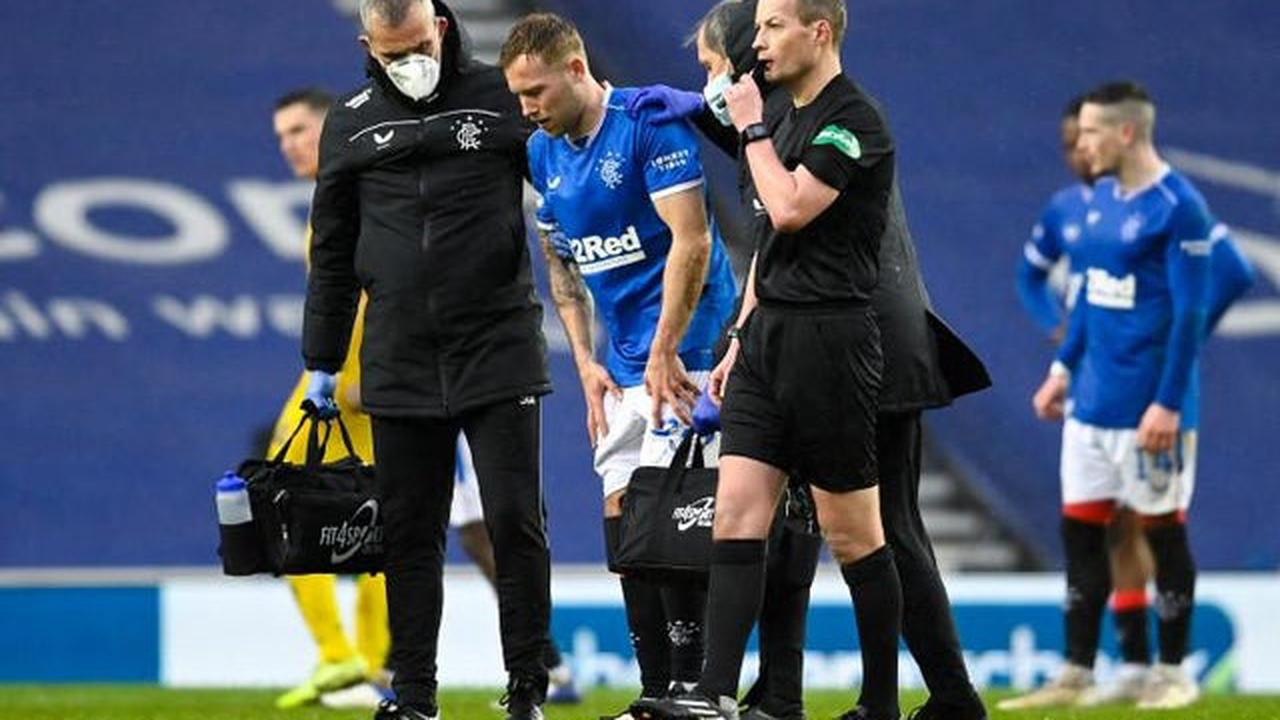 Rangers' anxious injury wait for Scott Arfield scan