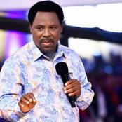 Prophet TB Joshua's YouTube page suspended Over Hate Speech