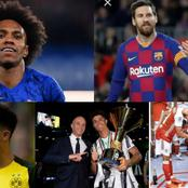 Latest Done Deals In Europe And Transfer Updates From Man Utd, Chelsea, Barca, Arsenal, And More