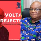 Volta Region Group Speaks Again As They Plan To Demonstrate Against The Re-Appointment Of Dr. Letsa