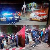 WAR!! The Shooting Continues At Hillbrow,