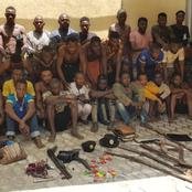 Mixed Reactions As Police Recovers The Following Items From Arrested Cultists In Lagos State