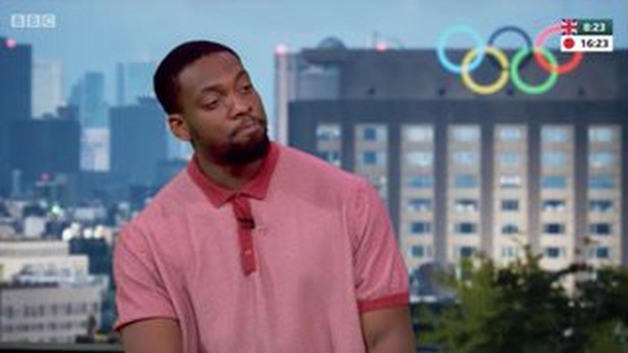 Matt Baker lost for words as Simone Biles vault slip-up forces gymnast to pull out