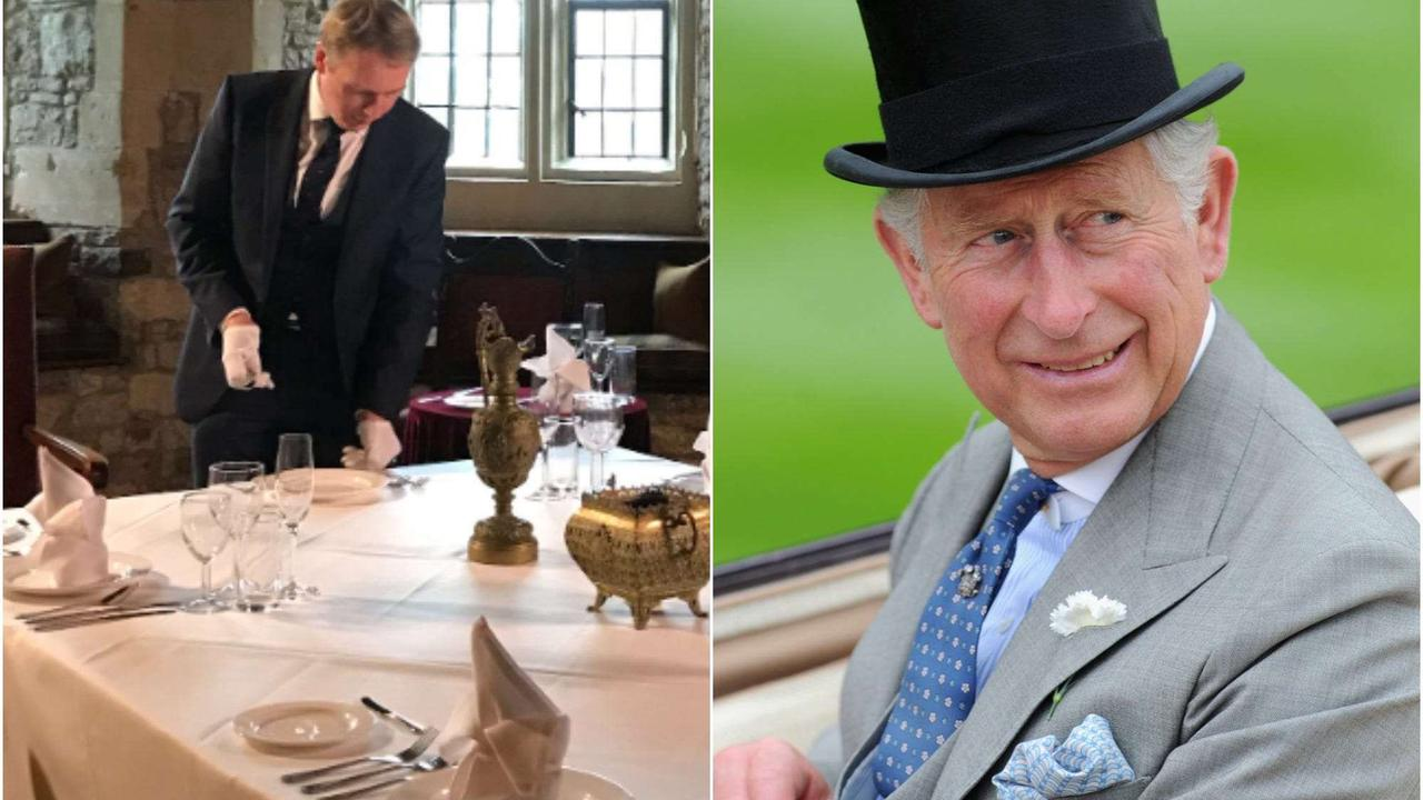 I spent an afternoon at royal butler school with Prince Charles' former butler, and it taught me that anyone can work at the palace