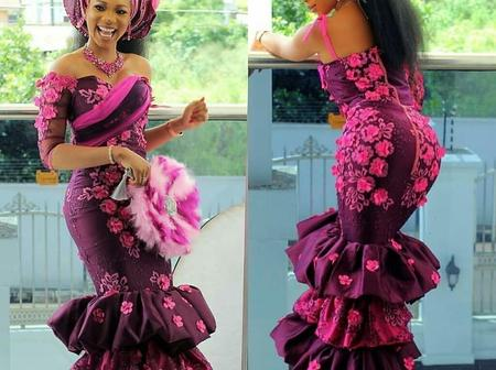 28 Suitable Designs Of Lace And Ankara Combination For Diverse Occasions