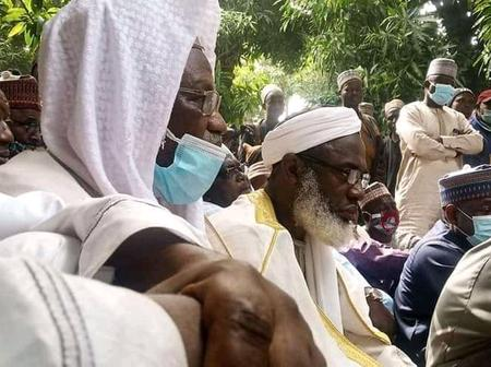 Sheikh Ahmad Gumi Arrives Tagina Forest And Trys to Preach to The Kidnappers of The Fulani People