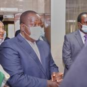 CS Fred Matiang'i Strong Message to Residents of Trans Nzoia County