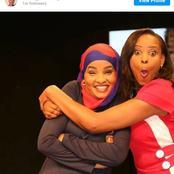 Citizen Tv Lulu Hassan Celebrates her Friend Kanze Dena on her Birthday with a Sweet Message