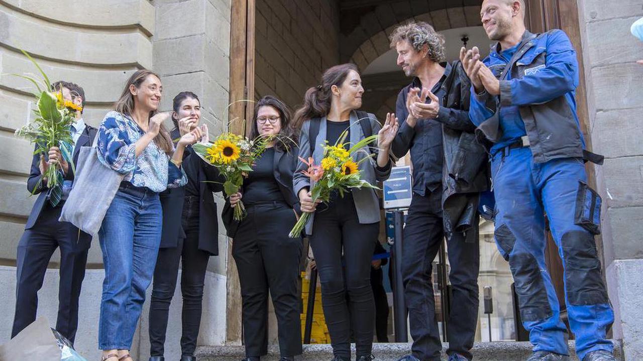 Manifestation lors du confinement - Des militants du mouvement #4m2 ont été acquittés à Genève