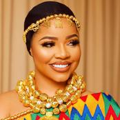 BBNaija Star, Nengi dazzles in gold and African print, as she celebrates Ghana's Independence