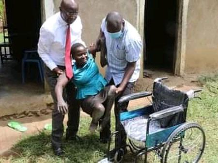 Bungoma Governor Wangamati Shows Off His Compassion By Changing Peninah's Life