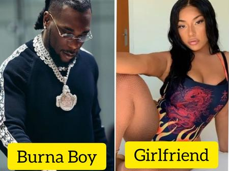 Lovely Photos of Burna Boy's Beautiful Girlfriend