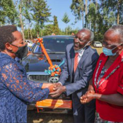 Rachel Ruto And School Allumni Award Their Teacher With A  Car [Photos]