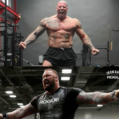 Martyn Ford Vs Moutain Man, Who'll Win In A Fight If The Two Collide? (Photos)