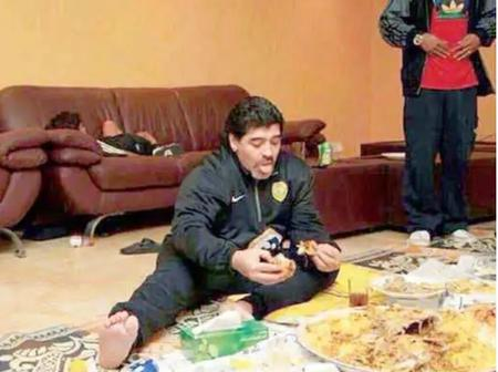 Check out some of the luxurious lifestyle Maradona led before his death