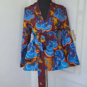 15 Beautiful Latest Ankara Jacket Style, You Probably May Have Not Seen Before