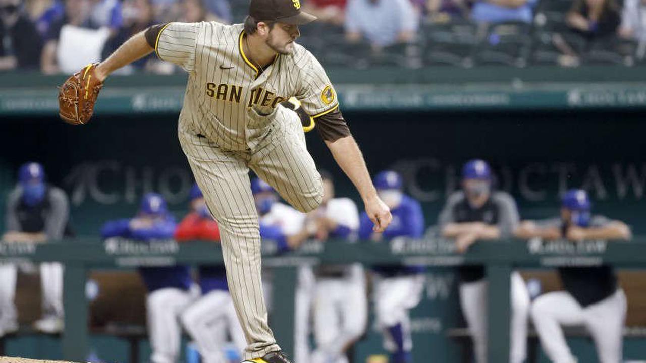 Padres notes: Drew Pomeranz progressing, Matt Strahm in San Diego