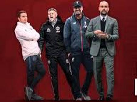 Football Managers: See The Naira Amount Earned Weekly By Top 10 Highest Paid Coaches In EPL