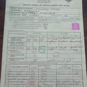 Législatives/Agboville: cette photo du procès verbal de dépouillement fait le buzz