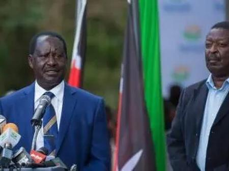 Bitter Fallout Between Raila And Mudavadi As Their Key Allies Throw Jibe At Each Other