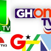 Top 10 most popular television stations in Ghana