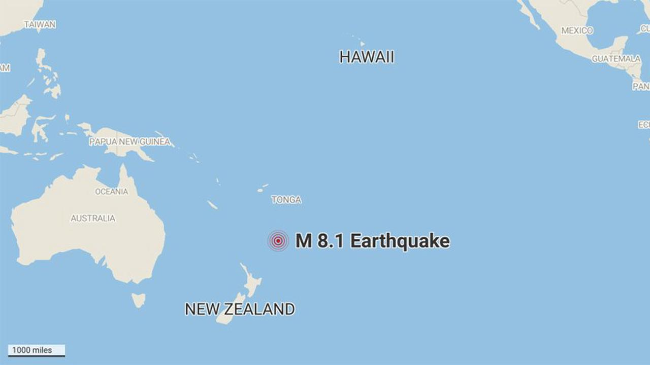 Agency Cancels Hawaii Tsunami Watch After Huge Pacific Quake