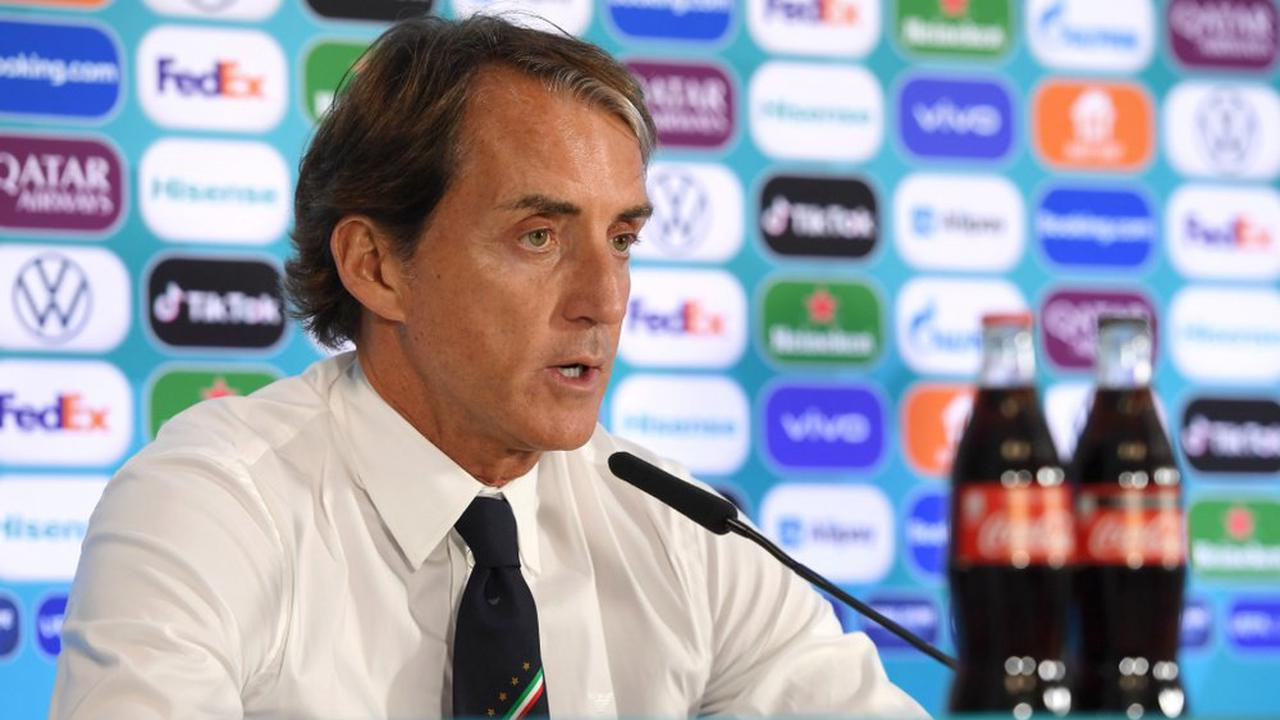 Mancini delighted by depth after Italy equal record in Euro 2020 win