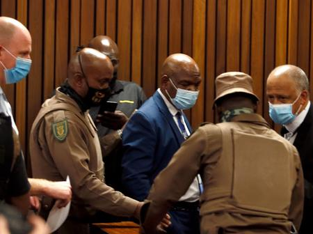Richard Mdluli Appears In Court After Refusing To Appear On 4 Different Occasions