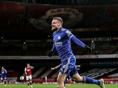 Jamie Vardy's Goal Helped Leicester City Beat Arsenal for the First Time at Home in 47 Years