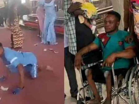 Pastor Buys New Wheelchair For Physically Challenged Man Who Danced During His Child's Dedication
